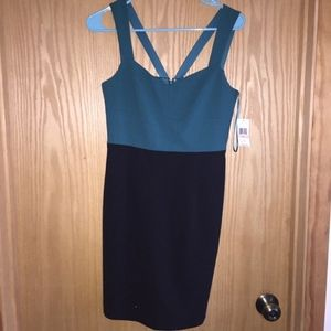Cece two toned dress BRAND NEW